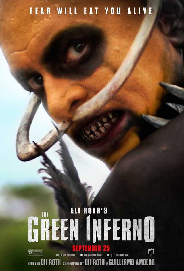 The Green Inferno 2015 poster