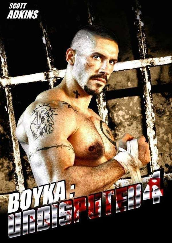 Boyka: Undisputed IV 2016 poster