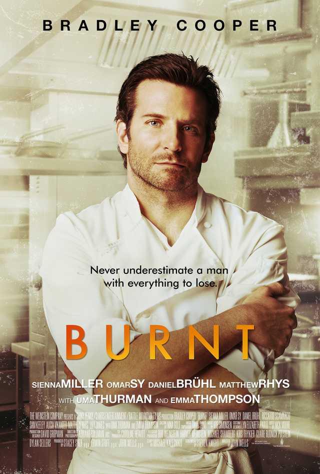 Burnt 2015 poster