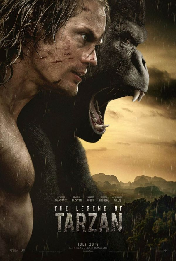 The Legend of Tarzan 2016 poster