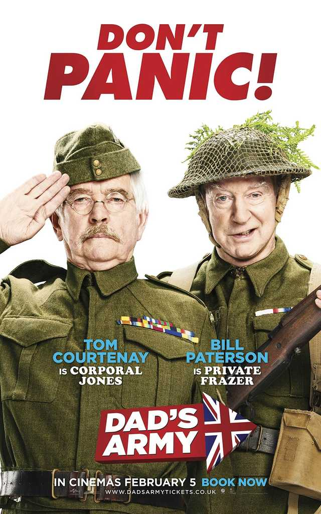 Dad's Army 2016 poster