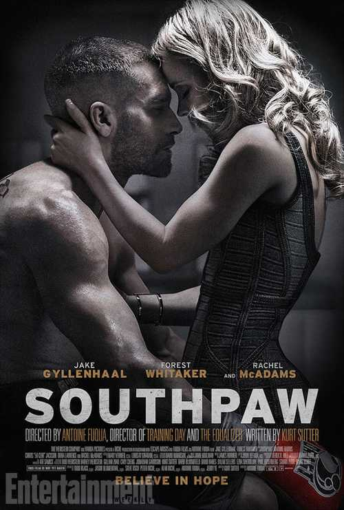 Southpaw 2015 poster